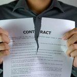 فسخ قرارداد ملکی