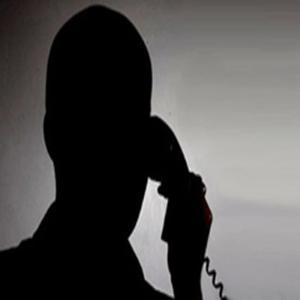 تهدید تلفنی